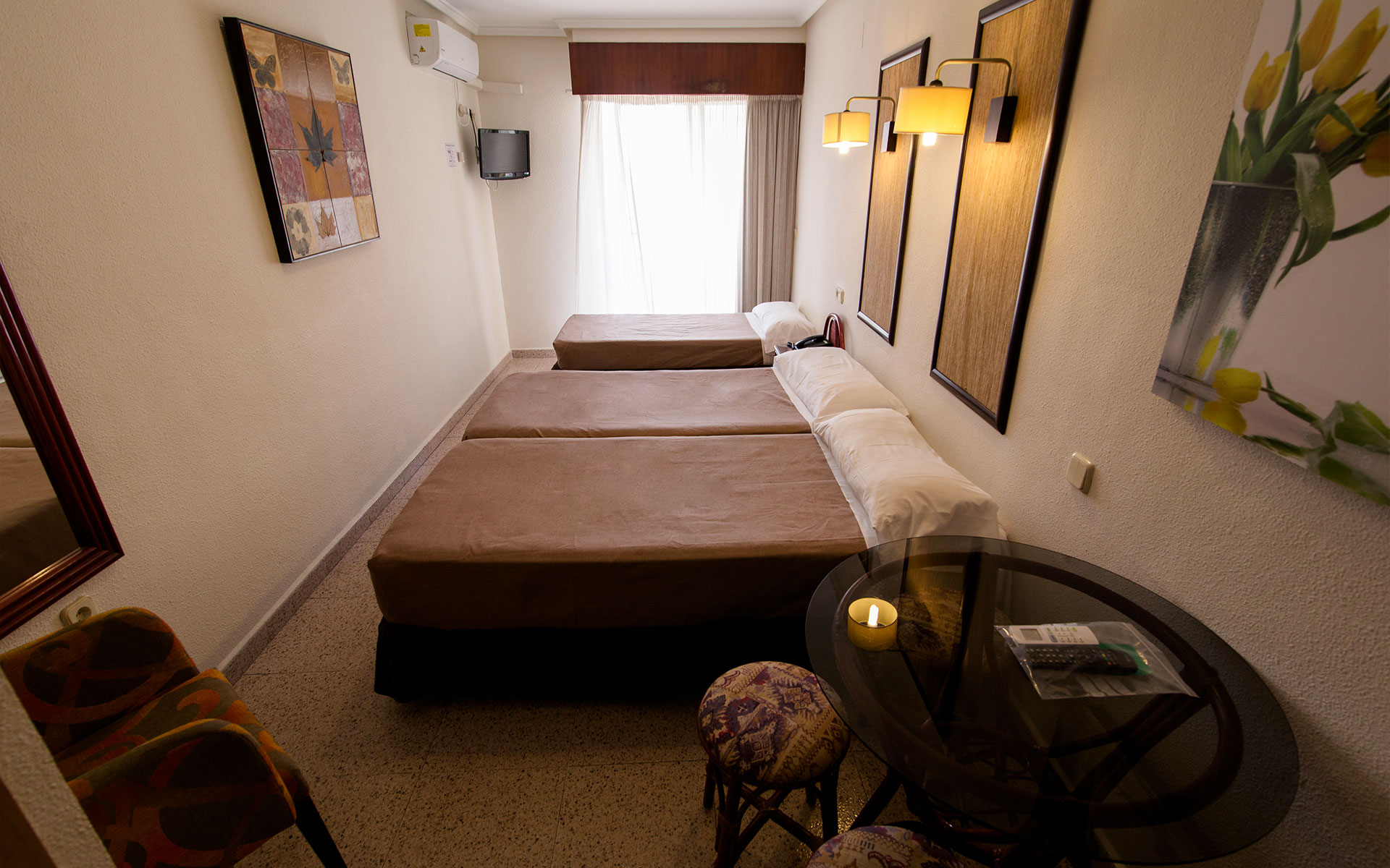 Habitación Triple Hotel Eden Mar Guardamar del Segura